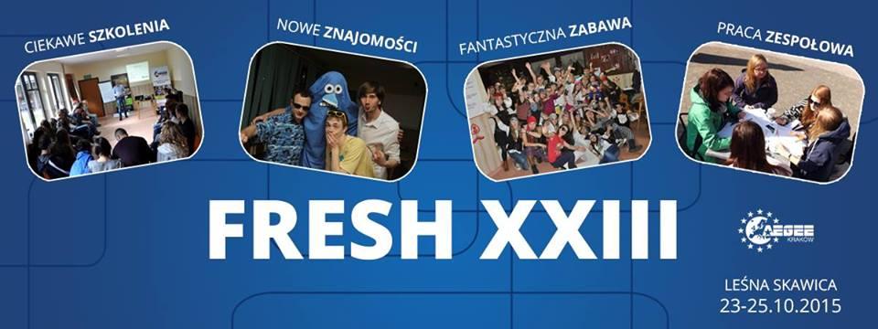 Szkolenie Freshmen's Survival – FRESH XXIII - Aplikacje już otwarte!