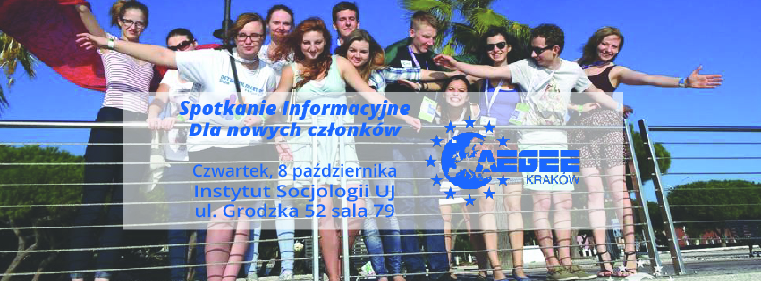 Spotkanie Informacyjne dla nowych członków!