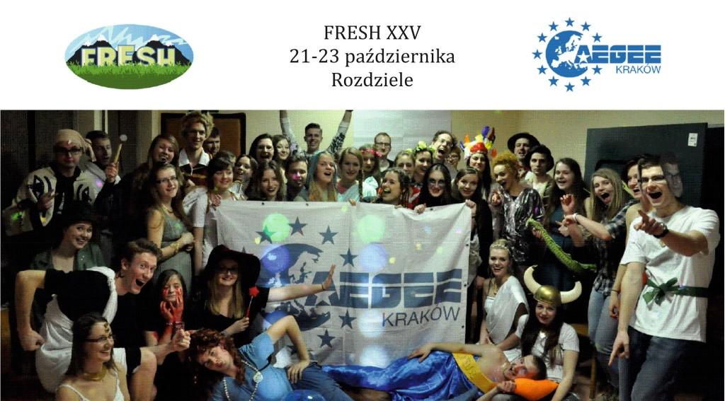 Szkolenie Freshmen's Survival – FRESH XXV – Aplikuj już teraz!